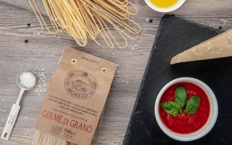 Spaghetti con germe di grano